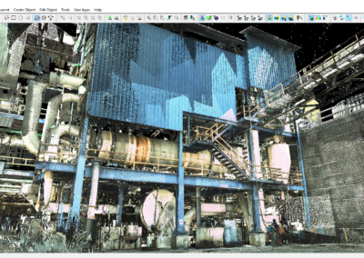 Point Cloud Geo-Registered